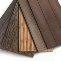 Quality outdoor wood flooring of wooden cement board 18-1 for sale