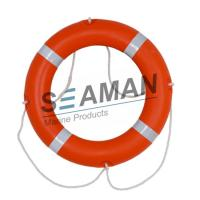 Quality 4kgs 720mm CCS / EC Cert Life Preserver Ring Marine Lifebuoy With Rescue Line Reflective Tape for sale