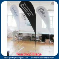 Quality Custom Teardrop Flag Signs for Business for sale