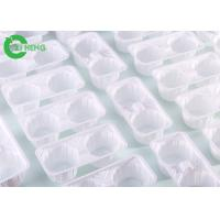 China Reusable Strong Plastic Cup Carrier Trays Crack Resistance For 2 Cup Hot Drinks on sale