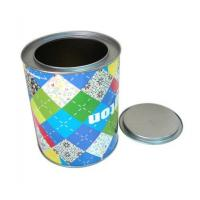 Quality Custom printing round sweet tin boxes wholesaler for sale