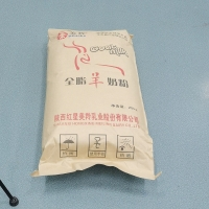 Quality Sterilized Full Fat Whole Raw Goat Milk Powder Edible Glass 25kg for sale