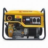 Quality Gasoline Generator with 50Hz Frequency, 220V Rated Voltage, 7.0kW Power, 6.5kW Rated Power for sale