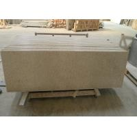 Quality Yellow Granite Stone Tiles 2700kg / M³ Granite Density 20 / 30mm Thick for sale