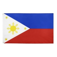 Buy cheap Philipone 100% Polyester Material Asia Custom Country Flags 9x15m from wholesalers