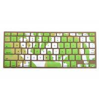 Quality Macbook Pro Silicone Keyboard Cover For Typing , Green Ocean Against Dust for sale