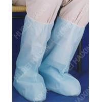 Quality Microporous Disposable Booties Cover With Elastic Ankle High Knee for sale
