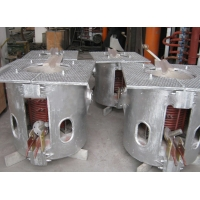 Quality 0.25T Electric Medium Frequency Induction Furnace Steel Melting for sale