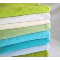 Quality TC Polyester Cotton Textile Knit Single Jersey Polyester Fabric for Garment for sale