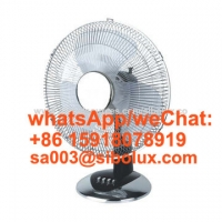 """Quality 12 inch electric plasic table desk fan/12"""" Ventilador for office and home appliances for sale"""