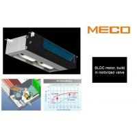 Quality DC Motor 600CFM 2 Pipe Fan Coil Unit , Concealed Ceiling Air Conditioning Units for sale
