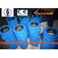 Quality PN25 Cast iron Dual Plate Check Valve / Industrial Butterfly Check Valve DN40 ~ DN800 for sale