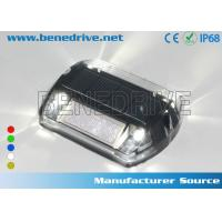 Quality Solar Powered LED Plastic Road Stud IP68 Outdoor 100X100X20 mm for sale