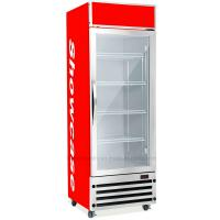 Quality 350L Upright Display Fridge , Auto Defrost Refrigerated Display Cooler for sale