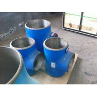 Quality Corrosion-resistant alloy lined composite mitre elbow tee fittings for sale