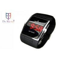 China Waterproof Mens LED Watches with 6 digits display mode, 1 percent second-stop watch on sale