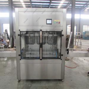 Quality Precision Olive Oil Filling Machine And Capping Machine With Labeling Machine for sale