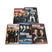 Quality Best Movie Captioned Closed TV DVD Box Sets Boston Legal Season 1-5 Series for sale