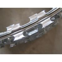 Quality Hot Dip Galvanized Razor Barbed Wire Cbt60 , Single Coil Razor Secure Fencing for sale