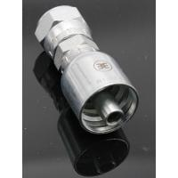 Buy cheap Precision JIC Hydraulic Hose Fittings One Piece Hose Fitting Through Hole from wholesalers