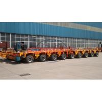 Quality 200 Ton Multi Axle Modular Trailer , Hydraulic Steering Girder Bridge Trailer for sale