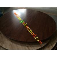 Quality PU dining hall OAK table top for sale