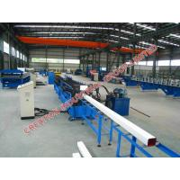 Quality Pre-Painted Iron Rain Water Downspout Roll Forming Machine 10-15m/min for sale