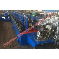 Quality Horizontal Bracket Rack Roll Forming Machine With Hydraulic Post Cutting for sale