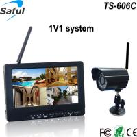 """Buy cheap CMOS 300,000 pixels camera 7""""TFT full hd indoor monitor cctv camera with memory from wholesalers"""