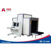 Quality Multiple Size Security X Ray Machine , Airport Security Baggage Scanners 80 Degree Generate Angle for sale