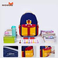 Quality NHZ021-15 Nohoo 2019 new design rocket series PU and Polyester children student school backpack for sale