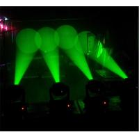Quality rainbow effect disco lights sound activated mini beam moving head light 60w for sale