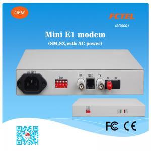 Quality G.703 Low Consumption Fiber Optic Modem Dip Switch for sale