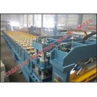 Quality Aluminium Metcopo Step Roof Tile Roll Forming Machine With Automatic Decoiler for sale