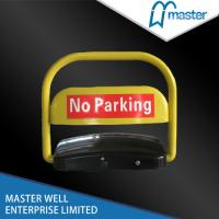 Quality Solar Car Parking Barrier with Steel A3 , Crash Resistance and Waterproof for sale