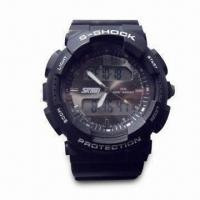 Quality Waterproof Analog Digital Sports Watch, Customized Logos Welcomed, Ideal for Promotional Gifts for sale