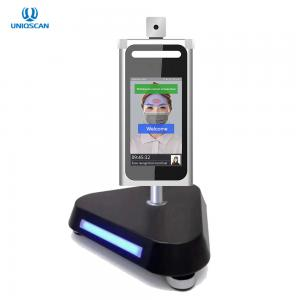 Quality Non Contact 20W IP54 0.2 Seconds Face Recognition Thermometer for sale