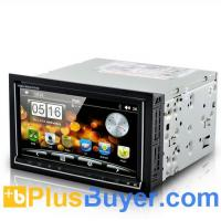 """Quality Road Cyborg - 6.95"""" Dual OS Car DVD Player (Android 2.3 + WIN CE, 3G + WiFi, GPS) for sale"""