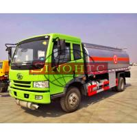 Quality 6 - 10cbm Brand New Fuel Gasoline Truck 4x2 Driving Type Optional Refuel Device for sale