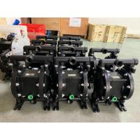 Quality Large Flow Metal Air Driven Double Diaphragm Pump With Simple Structure for sale