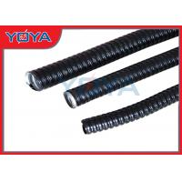 Best Thin PVC Jacket Flexible Conduit Pipe With Galvanized Steel Strip Inner wholesale