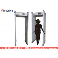 Quality High Sensitivity Walk Through Metal Detector 45 Zones For Government Department Secret Meetings for sale