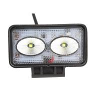 Quality 12V / 24V 20 W Cree LED Work Light Auto LED Driving Light Black For Offroad Vehicle for sale