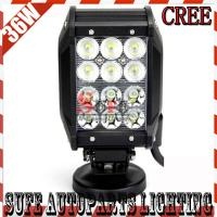 Best 4'' 36W CREE LED LIGHT BAR COMBO OFFROAD JEEP TRACTOR TRUCK MILITARY 4x4LED Driving Light wholesale