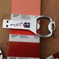 Quality memory usb 8gb key with bottle opener free imprinted for sale