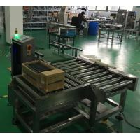 Quality Check Weigher for Heavy Weight 10- 20kgs products weight  and reject process for sale