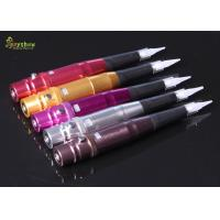 Quality Luxury Aluminium Alloy Permanent Eyebrow Tattoo Machine 6v  4 Color for sale