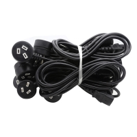 Quality NEMA Male IEC Female Australian Electrical Power Cable With Three Pin Plug for sale