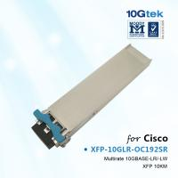 Best For Cisco XFP-10GLR-OC192SR, XFP 10GBase-LR 1310nm 10KM wholesale