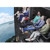 Quality Indoor Flight Simulation Flying Theater With U-Screen Motion Chair for sale